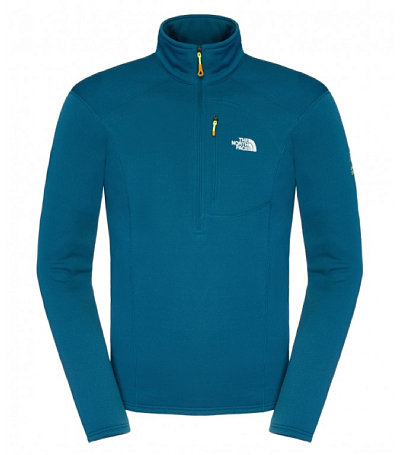 Жакет туристический THE NORTH FACE 2014-15 Outdoor M FLUX POWR STR 1/4Z MONTEREY BLUE