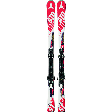 Горные лыжи с креплениями ATOMIC 2014-15 Race REDSTER ST & XTO 10 Red/Whit