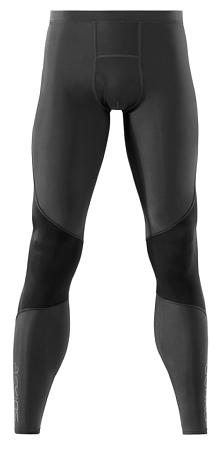 Тайтсы беговые SKINS 2015 RY400 Mens Long Tights Graphite