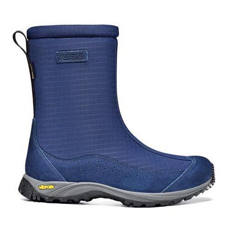 Купить Ботинки для треккинга (высокие) Asolo Junior Genius GV Deep Blue-Deep Blue Обувь города 757927