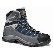 Ботинки для треккинга (высокие)Треккинговая обувь<br>Верх - водонепроницаемая замша толщиной 1,6 - 1,8 мм + высокопрочный полиэстер. Подкладка - Gore-Tex  Extended.  Усиленный низ ботинка - система Asoflex 00 SR. Анатомичная стелька Lite 2.Назначение: ХайкингПодошва:  Asolo/ Vibram  Radiant      ( резина - eva). Защита от влаги: Gore-Tex ExtendedВес: 590 г (один ботинок размера 8 UK)<br><br>Пол: Мужской<br>Возраст: Взрослый