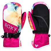 Варежки Roxy 2019-20 Jetty Bright white sunshine flowers