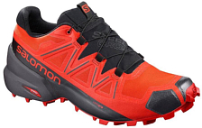 Беговые кроссовки для XC Salomon 2019-20 Speedcross 5 GTX Valiant Poppy/Black/Cherry To