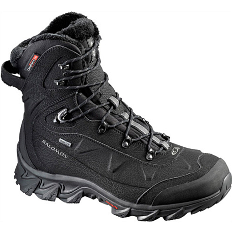 Ботинки городские (высокие) SALOMON 2013-14 Backpacking / Hiking & Winter NYTRO GTX M M BLACK/BLACK/AUTOB