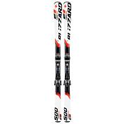 Горные лыжи с креплениямиГорные лыжи<br>Стабильный, хорошо управляемый, не очень скоростной инструмент с прогрессивным радиусом и весьма универсальной геометрией. <br>Хороший правильный флекс дает возможность использовать лыжи в любых снежных условиях &amp;#40;безусловно, в пределах условно-подготовленных и подготовленных трасс&amp;#41;.<br><br>Радиус: 16,0 м &amp;#40;167 см&amp;#41;<br>Геометрия: 121-72-104 мм<br>Носок: 121 мм<br>Талия: 72 мм&amp;nbsp;&amp;nbsp;&amp;nbsp;&amp;nbsp;<br>Пятка: 104 мм&amp;nbsp;&amp;nbsp;&amp;nbsp;&amp;nbsp;<br>Ростовки: 153, 160, 167, 174 см&amp;nbsp;&amp;nbsp;&amp;nbsp;&amp;nbsp;<br>Категория: совершенствующийся&amp;nbsp;&amp;nbsp;&amp;nbsp;&amp;nbsp;<br>Уровень: 4-7<br>Трасса / вне трассы: 90/10<br><br>Пол: Унисекс<br>Возраст: Взрослый<br>Назначение: Универсальные