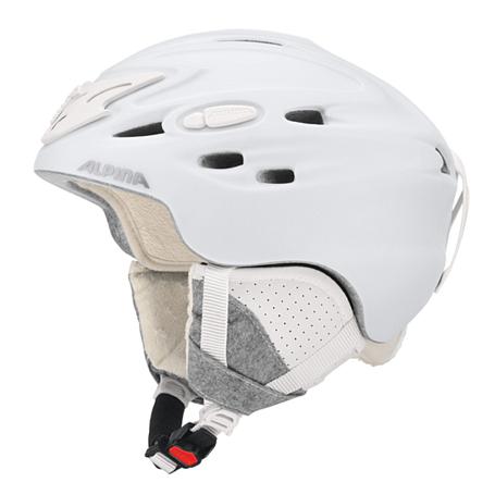 Купить Зимний Шлем Alpina SCARA white matt, Шлемы для горных лыж/сноубордов, 1279948