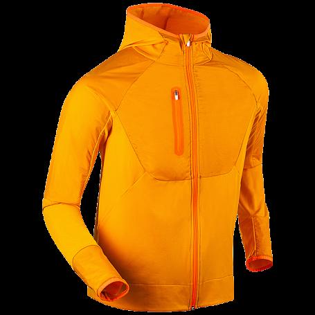 Купить Жакет беговой Bjorn Daehlie 2017-18 Full Zip Sweater Orange Одежда лыжная 1375250