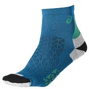 НоскиНоски<br>Asics MARATHON RACER SOCK – ультралегкие носки для марафонских дистанций&amp;nbsp;<br> <br> - 69% полиамид, 29% полипропилен, 2% эластан<br> - Усиленная область пятки и носка<br> - комфорт и защита от натирания<br> - специальные зоны плотности и сетчатые вставки обеспечат поддержку и воздухопроницаемость