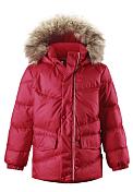 Куртка горнолыжнаяОдежда детская<br>Детская куртка-пуховик<br> <br> -швы проклеены<br> -ветро- и водонепроницаема<br> -подкладка из полиэстера<br> -съемный капюшон с отстегивающейся опушкой из искуственного меха<br> -два боковых кармана с клапанами<br> -светоотражающие элементы<br> -100% ПЭ, ПУ-покрытие<br> -наполнитель - 60% утиный пух, 40% утиное перо