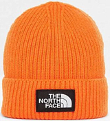 Шапка The North Face 2018-19 NF LOGO BOX CUFF BE PERSIAN ORANGE
