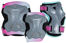 Комплект защиты Powerslide 2021 Kids Pro Girls Set Pink/Teal