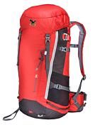 РюкзакРюкзаки для альпинизма<br>Штурмовой рюкзак с анатомической подвесной системой, стяжкой на груди и поясным ремнем. <br>Объем: 36 л <br>Вес: 1,05 кг <br>Размеры &amp;#40;ВхШхТ&amp;#41;: 66х30х24 см&amp;nbsp;&amp;nbsp;<br>Верхний клапан&amp;nbsp;&amp;nbsp;с карманомБоковой вход Боковые карманыБоковые стяжки Вывод питьевой системыКрепления для ледоруба, для лыж<br><br>Пол: Унисекс<br>Возраст: Взрослый