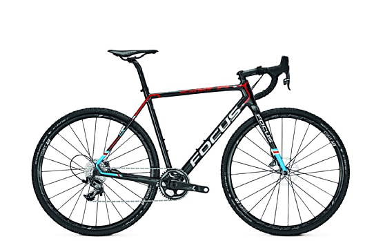 Купить Велосипед FOCUS MARES FORCE 1 2017 CARBON/RED/BLUE Циклокроссовые 1318734