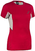 Футболка беговая Bjorn Daehlie 2020 Training Wool Summer Tshirt Wmn Red