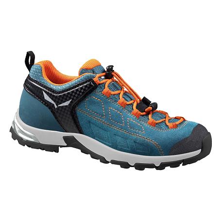 Купить Ботинки городские (низкие) Salewa Junior Approach JR ALP PLAYER WP Wetland/Carrot Обувь для города 1205865