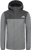 Куртка для активного отдыха The North Face 2020 Boy's Resolve Rain TNF Medium Grey Heather