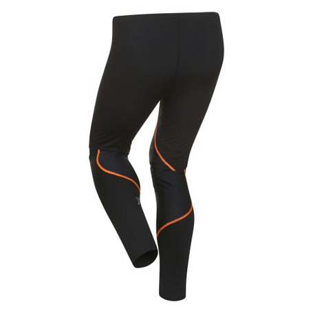 Тайтсы беговые Bjorn Daehlie Tights CONTENDER Long 99949 (black/shocking orange) черн/оранж
