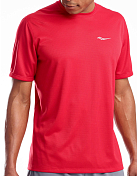 Футболка беговая Saucony 2020-21 Stopwatch Short Sleeve Saucony Red