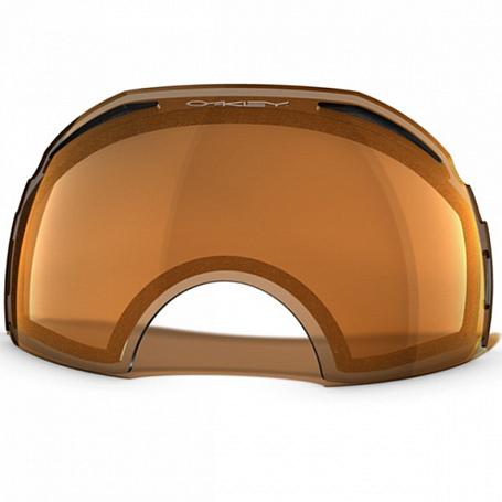 Купить Запасные линзы Oakley REPL. LENS AIRBRAKE DUAL VENTED /PERSIMMON Очки горнолыжные 911105
