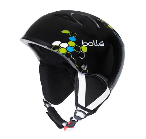 Купить Зимний Шлем Bolle 2015-16 B-KID SHINY BLACK GEO Шлемы для горных лыж/сноубордов 1240477