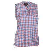 Рубашка для активного отдыхаОдежда для активного отдыха<br>Легкий топ блузон без рукавов идеально подходит для солнечных дней. Материал Dryton обеспечивает функционалльность, в то время как защипы спереди добавляют стиль.<br><br>Особенности:<br>- декоративная обметка отстроченных складок на карманах и поясе<br>- Складки на спине для дополнительной свободы движений.<br><br>Пол: Женский<br>Возраст: Взрослый<br>Вид: рубашка