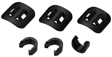 Наконечник BBB acc. HydroGuide C-Clip housing guides 3 pcs. Black