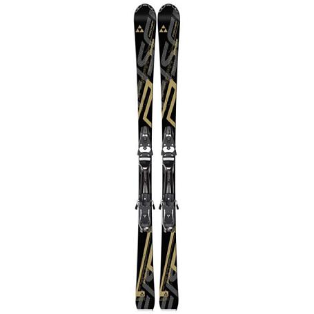 Купить Горные лыжи с креплениями FISCHER 2014-15 Progressor iPRO Racetrack+C-Line Z 13 RaceTrack черн./бел. 1143988