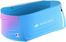 Пояс-разгрузка Raidlight 2020 Stretch Raider Belt W Blue/Pink
