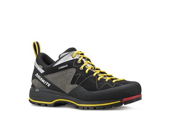 Купить Ботинки для треккинга (низкие) Dolomite 2017-18 Steinbock Low Gtx Black/Silver, Треккинговые кроссовки, 1188253