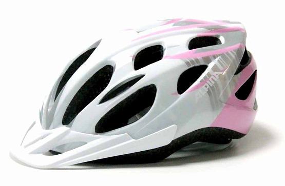 Купить Летний шлем Alpina SMU MTB 14 white-pink, Шлемы велосипедные, 1180245