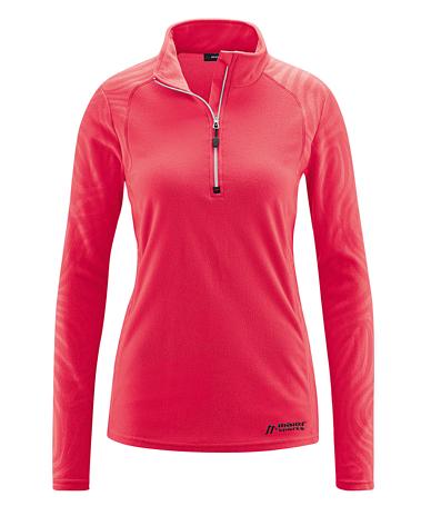 Купить Флис горнолыжный MAIER 2015-16 Midlayer Greta 2 teaberry Одежда горнолыжная 1192575