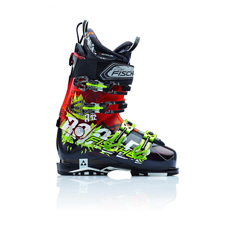 Купить Горнолыжные ботинки FISCHER 2016-17 Ranger 12 чер.пр./оранж.пр. Ботинки горнoлыжные 1142962