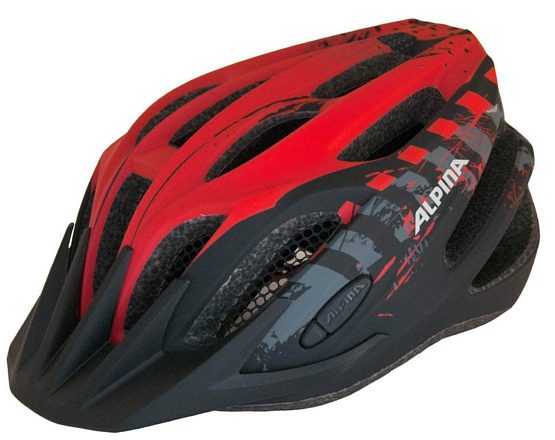 Купить Летний шлем Alpina SMU Tour 2.0 black-red Шлемы велосипедные 1180227