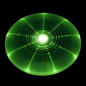 Летающий дискАксессуары туристические<br>Летающий диск Flashflight Golf Disc MidRange - аэродинамическая тарелка с загнутыми краями для игры в фрисби. В корпус встроен светодиод, который подсвечивает тарелку зеленым цветом..<br> Корпус герметичен, а значит вода и грязь не навредят девайсу.&amp;nbsp;<br> <br> Отличается высокой точностью полета по выбранной траектории.<br> <br> Вес - 185 гр