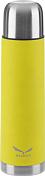 ТермосПосуда туристическая<br>Термос Salewa Thermo Bottle 0,5 л - термос от Salewa, исключительные изоляционные свойства, благодаря уплотнению из силикона, нескользкая поверхность обеспечивает надежный хват. Для изготовления использована 18/8 нержавеющая сталь.<br><br>Особенности:<br><br>- поверхность сделана из прочной нержавейки высокого качества<br>- возможность сохранять пищу холодной или горячей в течение продолжительного периода<br>- крышка-чашка<br>- BPA-free - без токсичного бисфенола А<br><br>Характеристики:<br><br>При температуре воды ~ 95° C и температуре окружающей среды ~ 20° C ± 2° С температура напитка:<br>- через 6 ч: ~ 78° C<br>- через 24 ч: ~ 51°<br><br>Технические характеристики:<br><br>Материал: нержавеющая сталь<br>Вес: 340 г<br>Объем: 500 мл.