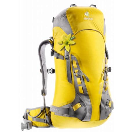 Купить Рюкзак Deuter 2015 Alpine Guide Lite 28+ SL lemon-platin Рюкзаки для альпинизма 1072941