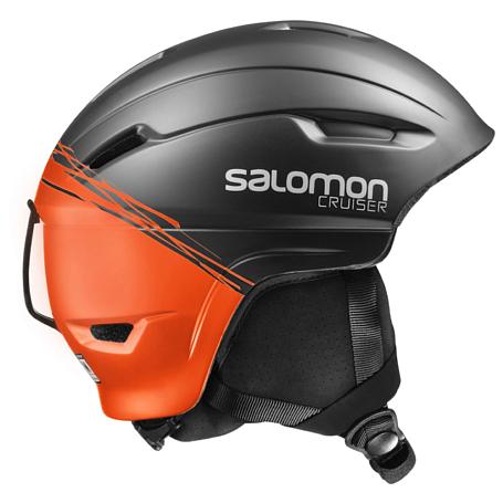 Купить Зимний Шлем SALOMON 2016-17 HELMET CRUISER 4D BLACK/Orange Шлемы для горных лыж/сноубордов 1287383