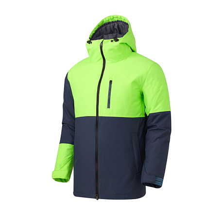 Куртка сноубордическая ROMP 2015-16 180 Switch Slim Jacket Dark Gray Neon Green