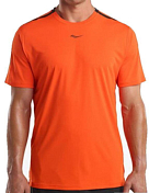 Футболка беговая Saucony 2019 UV Lite Short Sleeve Flame