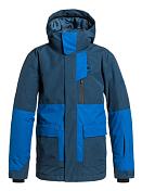 Куртка сноубордическая Quiksilver 2015-16 York Yth Jkt B SNJT DARK DENIM