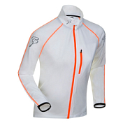 ����� ������� Bjorn Daehlie Jacket IMPACT Bright White/Shocking Orange (�����/���������)