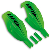 Слаломная защита NIDECKER 2018-19 Kids slalom handguards green