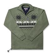 Свитер для активного отдыхаОдежда для активного отдыха<br>Шерстяной свитер на молнии 3/4, один внутренний карман, полы свитера регулируются шнурком. <br>Мембрана Windstopper.<br><br>Состав: 50% мериносовая шерсть, 50% акрил.<br>