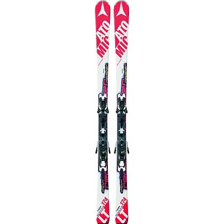 Купить Горные лыжи с креплениями ATOMIC 2014-15 Race REDSTER LT & XTO 10 Red/White 1140078