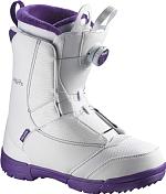 Ботинки для сноуборда SALOMON 2015-16 PEARL BOA White/GRJ/WH