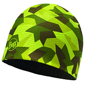 Шапка Buff MICROFIBER REVERSIBLE HAT BLOCK CAMO GREEN