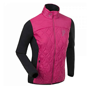 Куртка беговая Bjorn Daehlie JACKET/PANTS Jacket EASY Women Beetroot Pink/Black (Розовый/черный)