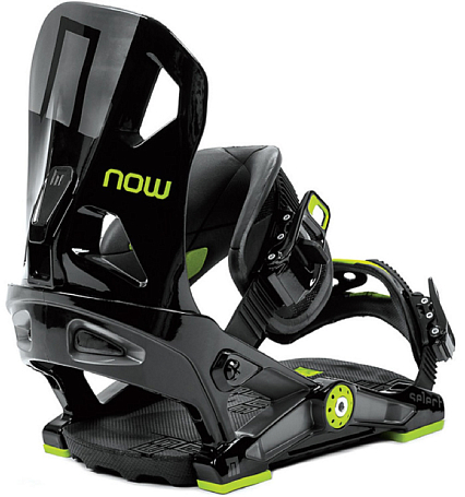 Купить Сноуборд крепления NOW 2014-15 Select Black 1116237