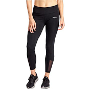 Тайтсы 7/8 беговые Saucony 2020-21 Fortify 7/8 Tight Black