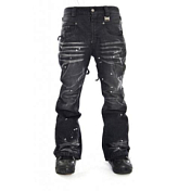 Брюки сноубордические I FOUND 2014-15 ROCKSTAR PANTS - SLIM FIT DARK BLACK/NOIR FONCE